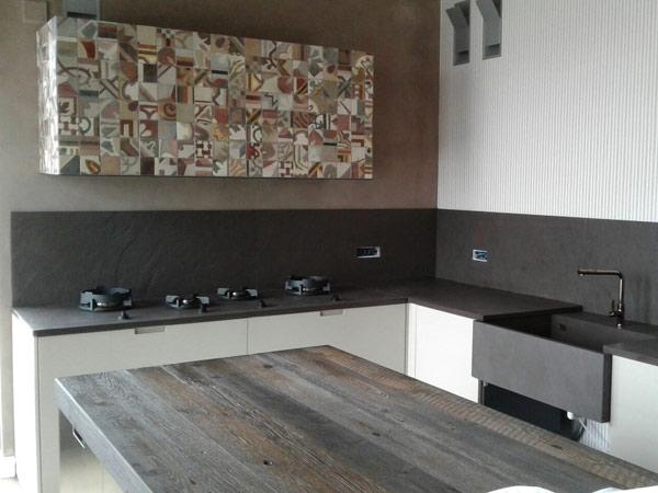 Marmo per Cucina Reggio Emilia – Tavolo top piano arredo bancone ...