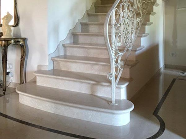 Favoloso Scale in Marmo Reggio Emilia Parma – Gradini scalini pietra RS56
